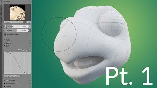 CGC Clásico: la Creación de un dibujo de Tortuga Pt.1 - el Modelado de la Cabeza (Blender 2.6)