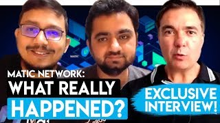 FUD DISMISSED - MATIC NETWORK EXPLAIN IN AN- INTERVIEW WITH DUSHAN SPALEVICH FOR IBLOCK TV