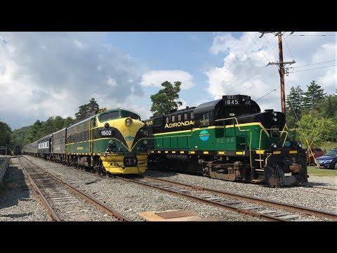 Adirondack Scenic Railroad 25th Anniversary 8/12/17