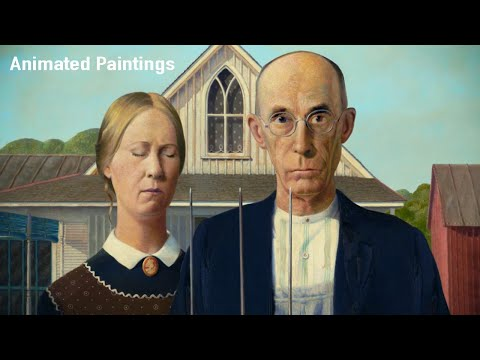 Animated Paintings - YouTube