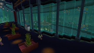 ➥VIKINGCRAFT #9 - CREATING AN AQUARIUM IN THE FUND OF THE FIORD  ➥ MAX. DIFFICULTY - SURVIVAL