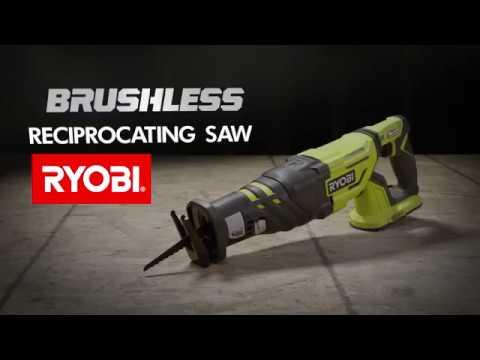 RYOBI NZ: 18V ONE+ Brushless Reciprocating Saw