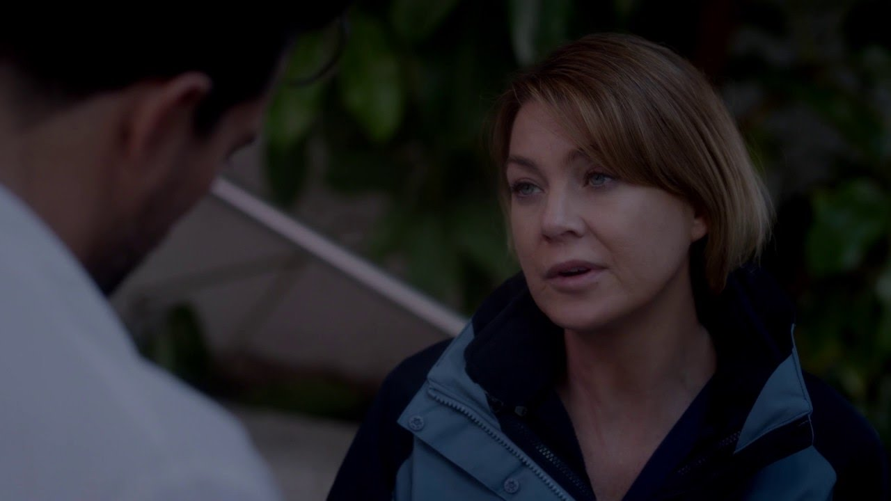 Meredith Says Yes - Grey's Anatomy - YouTube