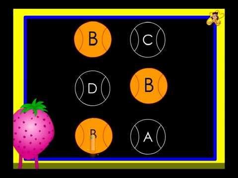 Alphabet recognition worksheet   kindergarten   letter B