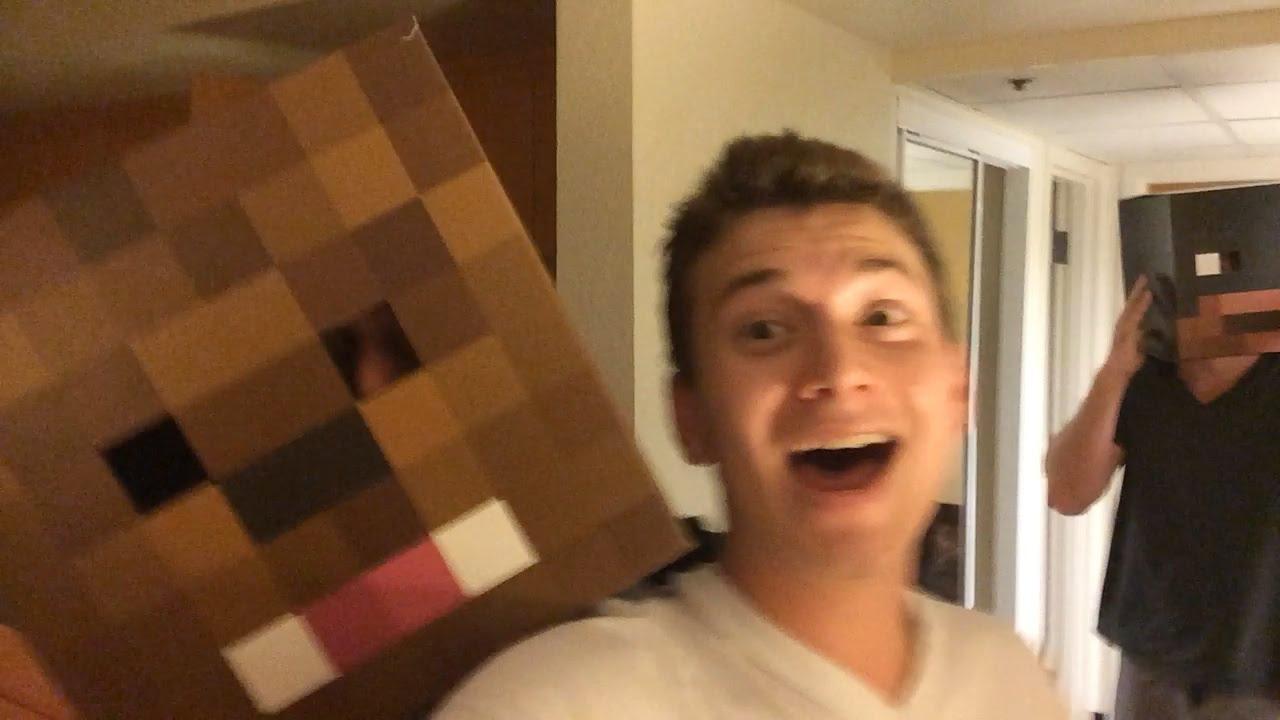 Minecraft Hat Surprise Bajan Canadian Jeromeasf Xrpmx13 Youtube