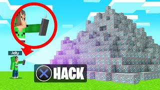 We Found A HACKING DEVICE In MINECRAFT! (Amazing)