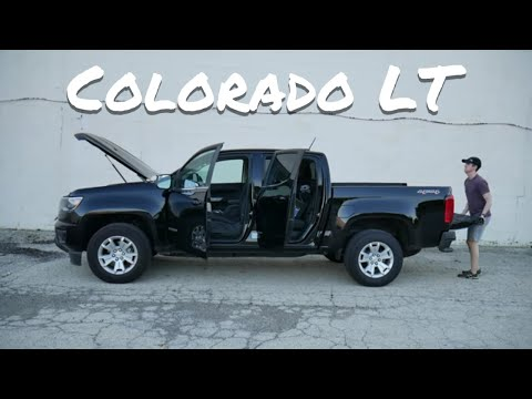 2018 Chevy Colorado LT 3.6L V6 4WD Short Box, Crew Cab // Detailed Review And Test Drive
