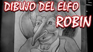 WISHIMATION - Dibujo Del Elfo Robin Goodfellow