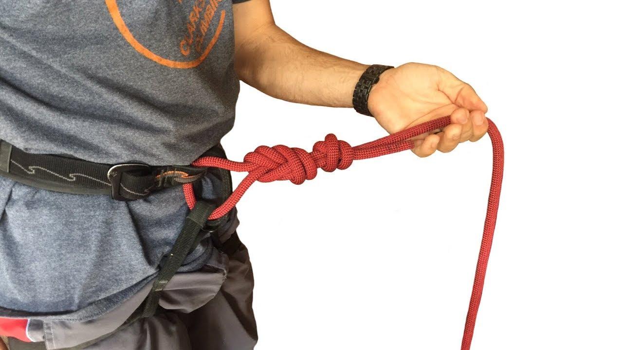 tie in when rock climbing: Figure 8 knot - YouTube