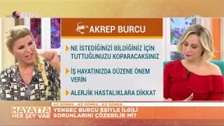 Nuray Sayarı'dan haftalık AKREP burcu yorumu (5 Kasım - 11 Kasım 2018 )