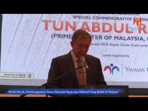 Legasi Kepimpinan : Seminar Khas Memperingati Tun Abdul Razak - Dato' Mohamed Nizam Abdul Razak