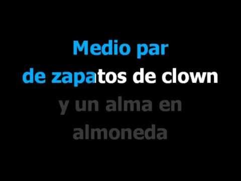 La cancion mas hermosa del mundo -  Joaquin Sabina -  Karaoke -  Letra
