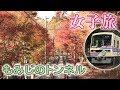 【鉄道旅】紅葉まっさかり!もみじのトンネル☆叡山電鉄(前編)