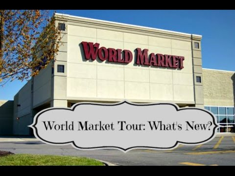 World Market Tour: Whats New at World Market    aSimplySimpleLife Shopping