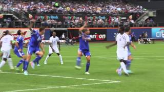 Sights from the Israel v Honduras match at Citi Field ~ 1495 Sports TV