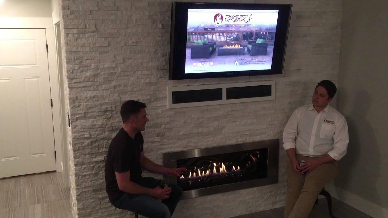 interview with a homeowner remodeling replacing a gas fireplace