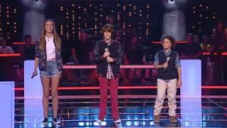 Baixar João Pinto VS Mariana Aragão VS José Moreira - We found love - The Voice Kids