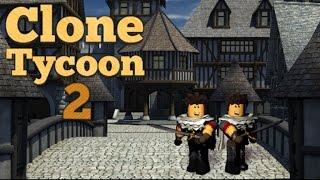 CLONES EM TODOS OS LUGARES! | Atualização Clone Tycoon 2 #1 w/LlamaSprinkles/Handsom_Squidward | ROBLOX