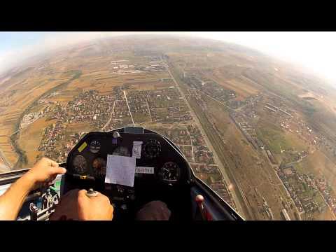 Glider Aerobatics School - full program sortie