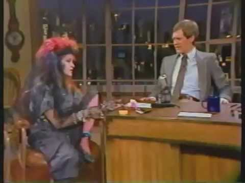 Cyndi Interview with David Letterman - 1984