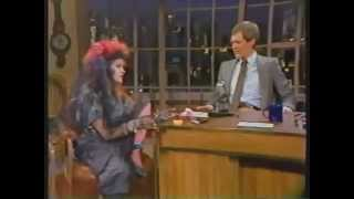 thumbnail image for video: Cyndi Interview with David Letterman - 1984