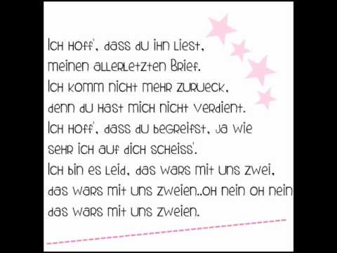 Kay one - Das wars (lycris)