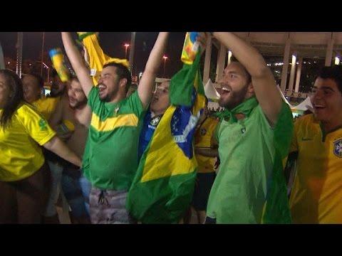 Brazil celebrates Olympic gold in men's football
