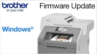 How to update your Brother firmware from a Windows® computer