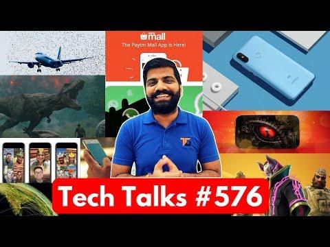 Tech Talks #576 - Mi A2 Launch, Snapdragon 670, Whatsapp Limit, Autonomous Drones, Android 9 Pie