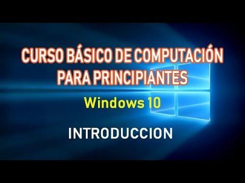 Curso basico de computacion principiantes gratis windows for Curso de interiorismo gratis
