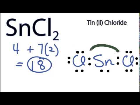 Sncl2 Lewis Structure How To Draw The Lewis Structure For Sncl2