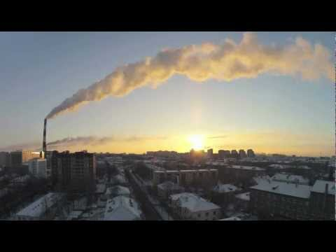 Морозное утро в #ufa