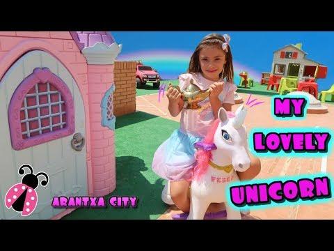 Unicornios en mi ciudad 🏡 Arantxa City 🌞 Los juguetes de Arantxa