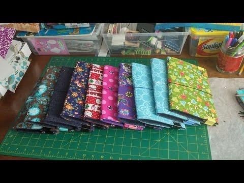 DIY (cloth) Traveler's Notebook Tutorial