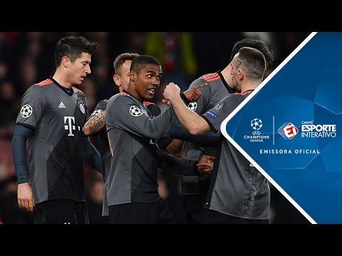 Melhores Momentos - Arsenal 1 x 5 Bayern de Munique - Champions League (07/03/2017)