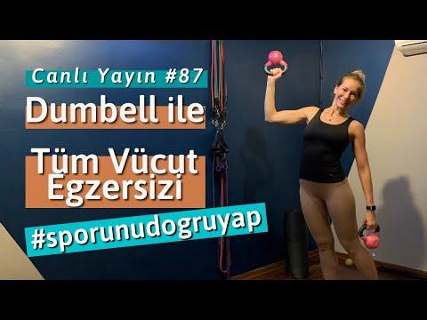 Dumbell ile Tüm Vücut Egzersizi - Melis Yengil (Pilates Master Instructor)