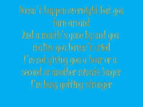 A Little Bit Stronger by Sara Evans Lyrics