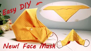 Easy Face Mask Sewing Tutorial DIY Face Mask All Size Very Easy New Style Mask