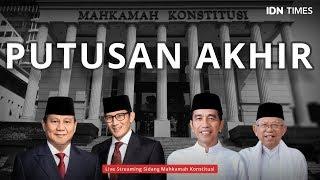 LIVE STREAMING - DETIK-DETIK JELANG PUTUSAN SENGKETA PILPRES 2019 DI MAHKAMAH KONSTITUSI