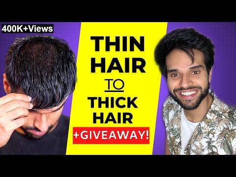 8 Thin Hair Tips | Hair Care & Hairstyles | Hair Thinning Treatment | BeYourBest Grooming Hindi