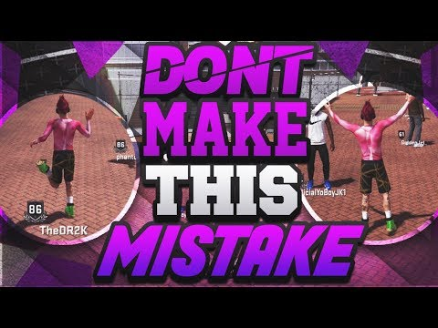BIGGEST MISTAKE IN 2K18!!! MUST WATCH BEFORE MAKING BUILDS!