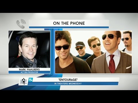 "Mark Wahlberg Talks New ""Entourage"" Movie on The RE Show - 6/2/15"