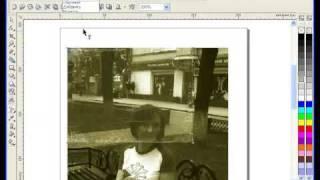 Лучшие Видеоуроки Corel DRAW X3. Урок № 42.(В этом видеоуроке мы рассмотрим способ, как можно состарить современную фотографию силами Corel DRAW X3. Сделаем..., 2009-06-28T07:27:19.000Z)