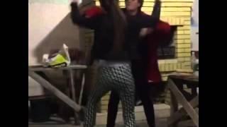 Кузин и Артемова в танце сходят с ума