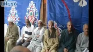 محافظ المنيا يعُزي أسرة عامل محطة وقود ضحي بنفسه لإنقاذ مدينة ابوقرقاص من كارثة