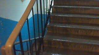В Керчи снова затопило жилые дома