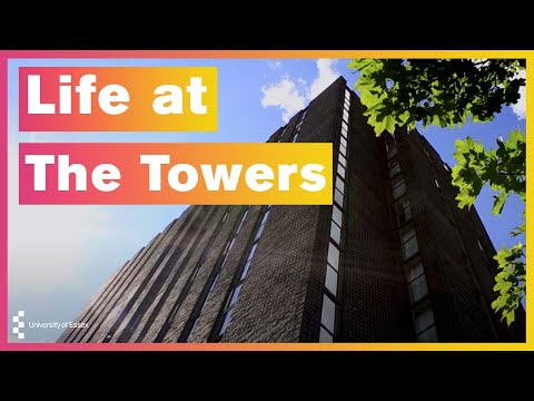 Life at The Towers - University of Essex Accommodation Colchester Campus
