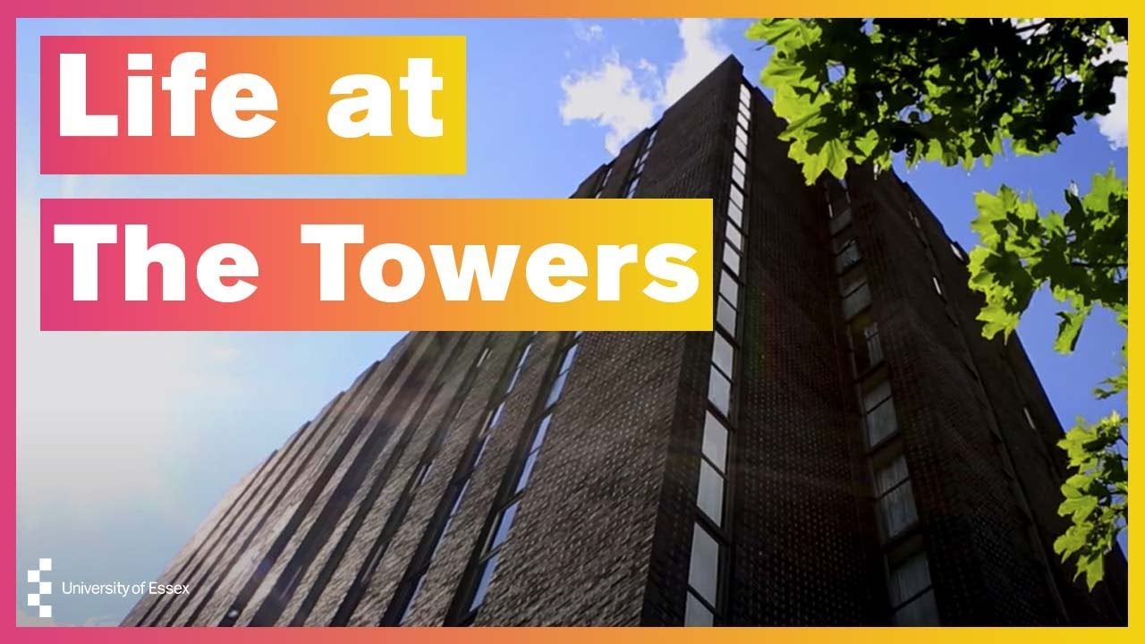 Life at The Towers - University of Essex Accommodation Colchester Campus - YouTube