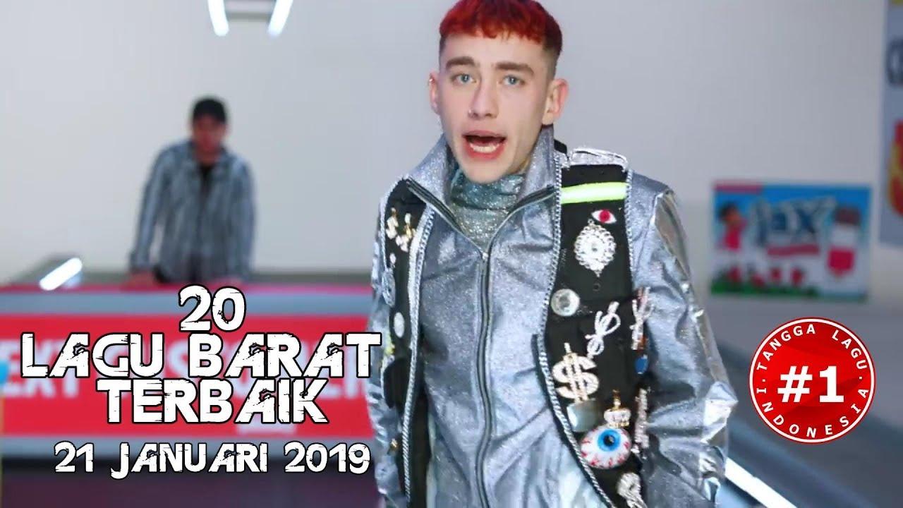 20 Lagu Barat Terbaik  (21 Januari 2019)