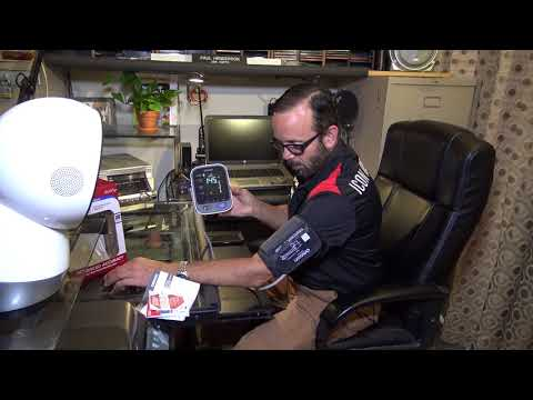 Unboxing The OMRON Blood Pressure Kit W/Paul Henderson
